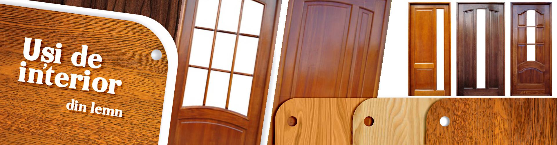 producator usi de interior din lemn